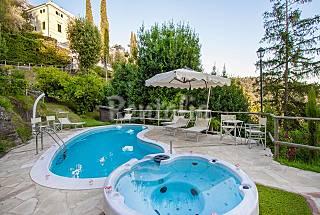 Splendid Tuscan villa with garden and pool. Pisa