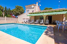Villa Linnae en Moraira,Alicante,for 6 people Alicante