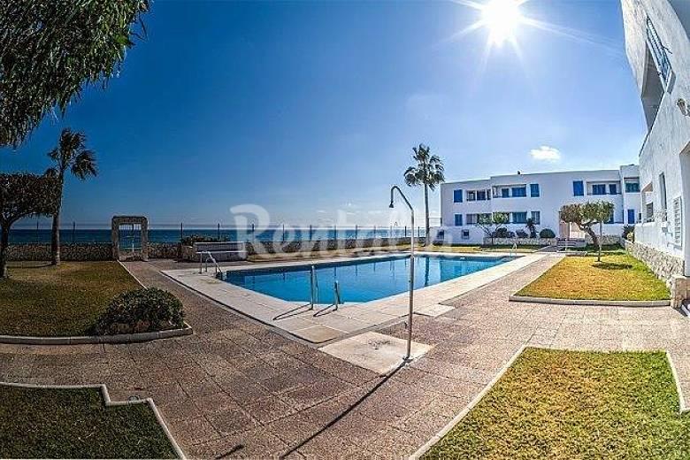 Apartamento en alquiler en 1a l nea de playa moj car for Apartamentos playa mojacar