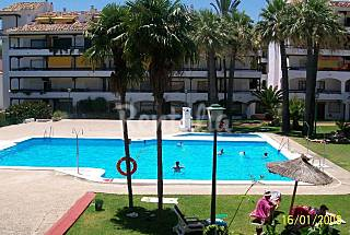 A Modern Studio Apartment 250 m from the beach in the Golden Mile for Short Term Rent Málaga