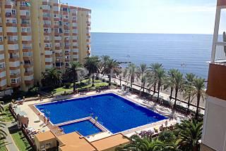Apartamento para 1-3 personas en 1a línea de playa Málaga