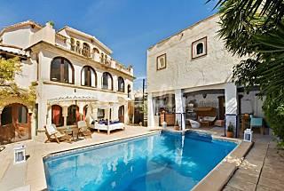 Villa morisca con piscina y WiFi Alicante
