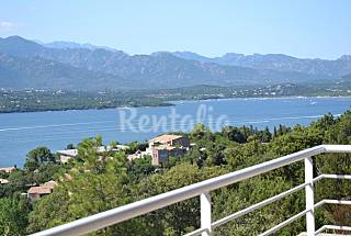 Porto-Vecchio villa with sea view South Corsica