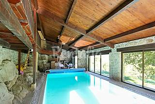 Luxury 3-bedroom villa with terrace Ardeche