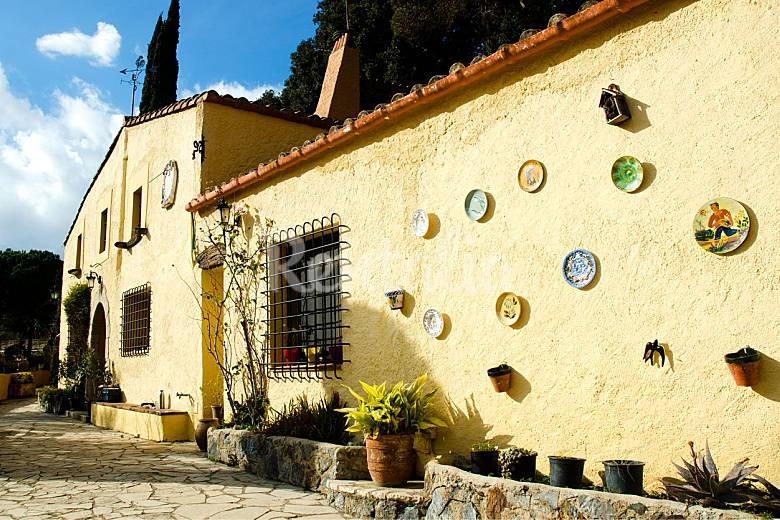 Casa rural para 16 17 personas en parque natural tordera - Natura casa barcelona ...