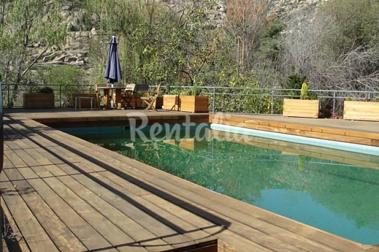 Casas de vacaciones en manzanares el real madrid - Casa rural manzanares ...