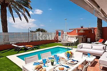 Villa en alquiler con piscina san agustin san bartolom - Villas en gran canaria con piscina ...