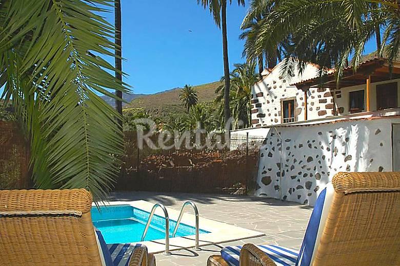 Villa en alquiler con piscina el valle santa luc a de - Villas en gran canaria con piscina ...