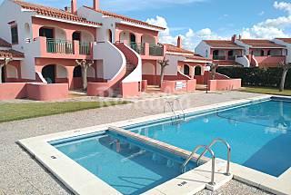 Apartamento para 5 personas a 400 mts playa, Wifi  Menorca