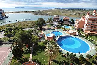Studio en complejo residencial con piscina Girona/Gerona