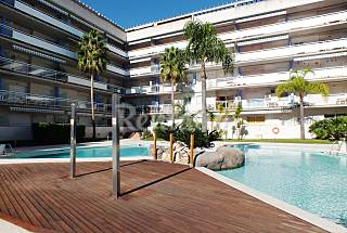 Apartment with pool at 1500 meters from the beach Girona