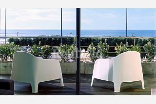Appartamento per 4 persone in prima linea di spiaggia Oporto