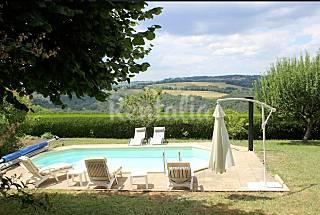 Maison avec piscine privée Aveyron