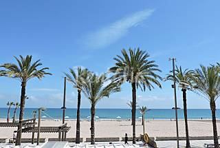 Apartment with 3 bedrooms on the beach front line Alicante