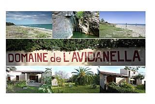 Villa para 4-6 personas a 100 m de la playa Córcega del Norte